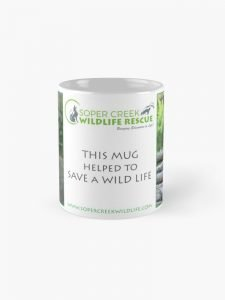 This mug helped to SAVE a WILD life! (various)